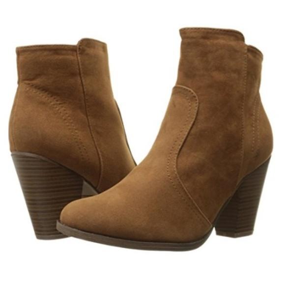 035ea7d13851b Breckelles Shoes | Heatherfaux Suede Ankle Boots | Poshmark